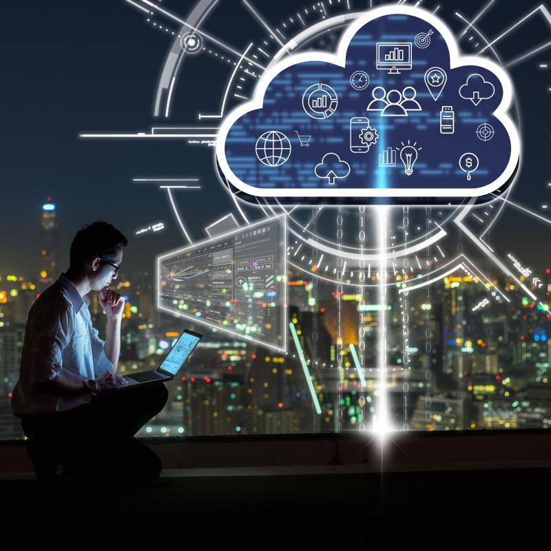 cloud partage données