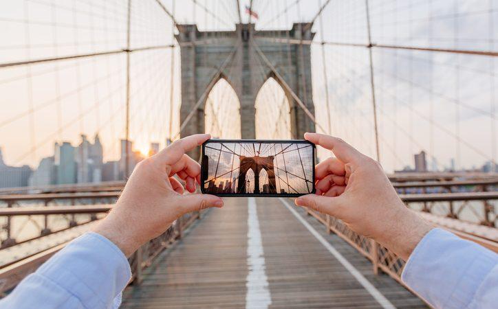 photos sur smartphone