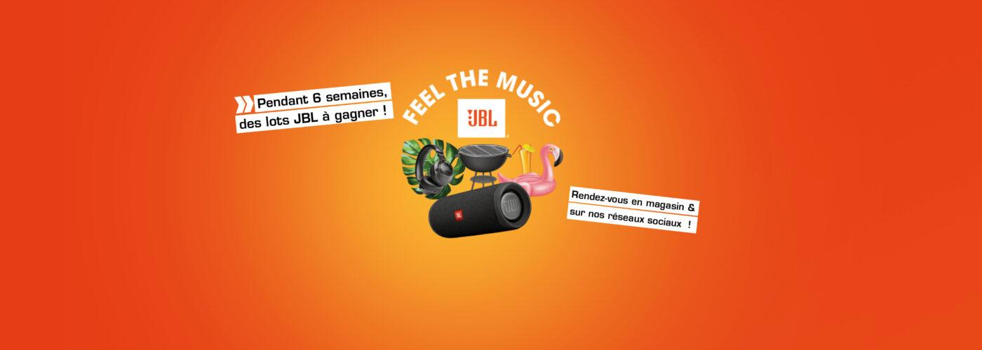 feel the music jbl