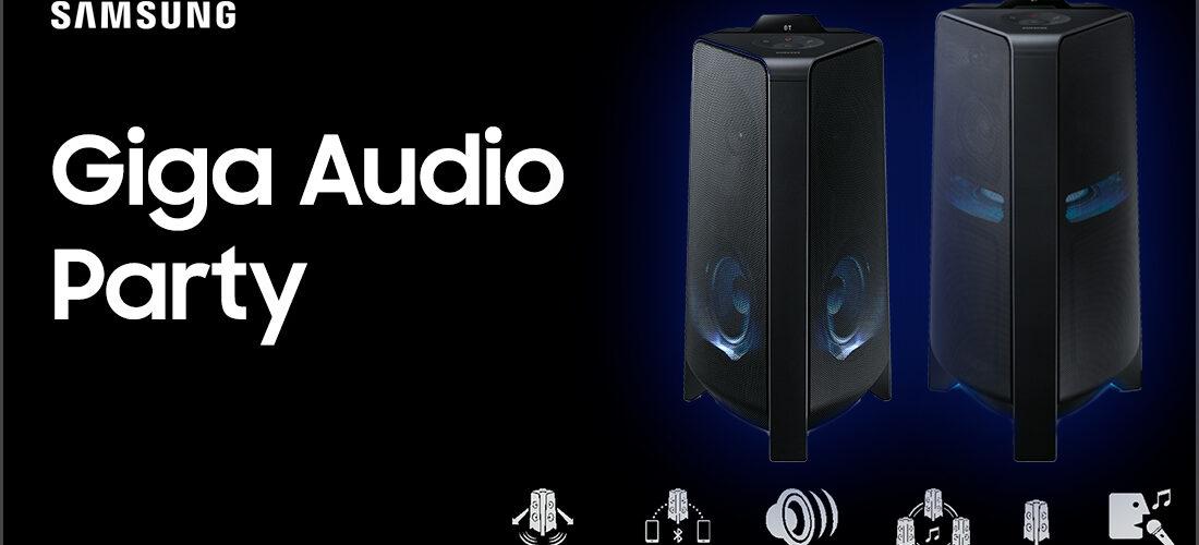 giga party audio samsung